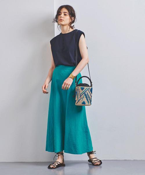 色使いがおしゃれな今日の服装【スカート】