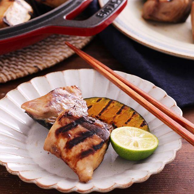 グリルパン 魚介メイン レシピ4