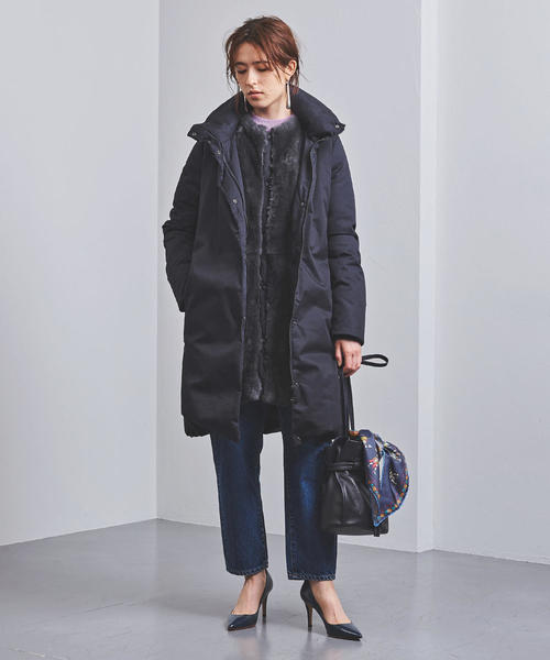 [UNITED ARROWS] 別注<WOOLRICH(ウールリッチ)> COCOON ダウンコート 19AW†