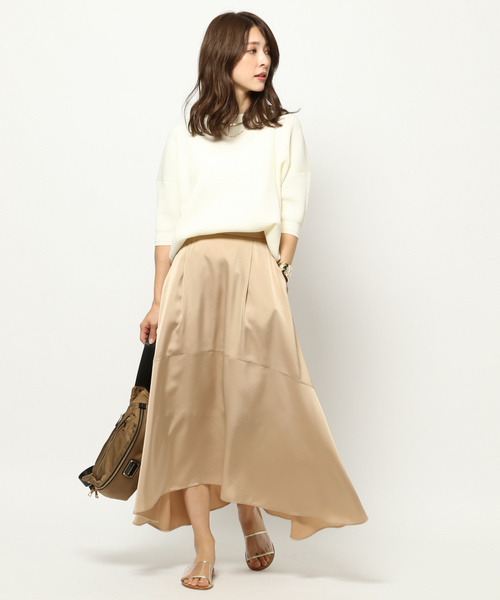 [BARNYARDSTORM] BARNYARDSTORM / サテンロングスカート