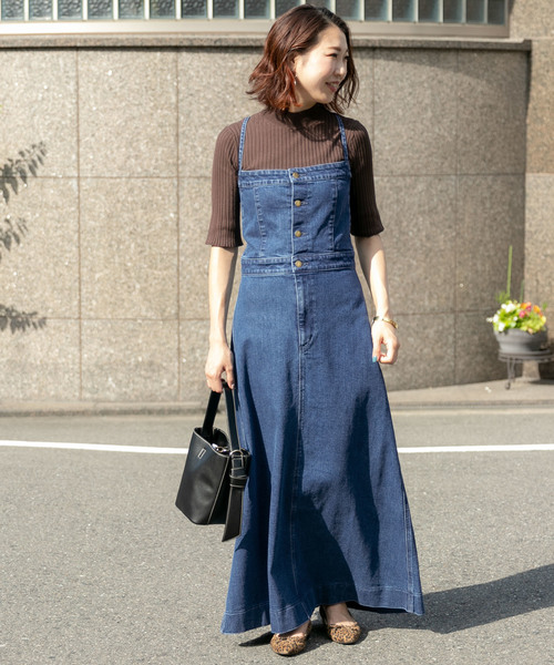 [URBAN RESEARCH ROSSO WOMEN] ROSSO×Lee <別注>DENIM JUMPER SKIRT