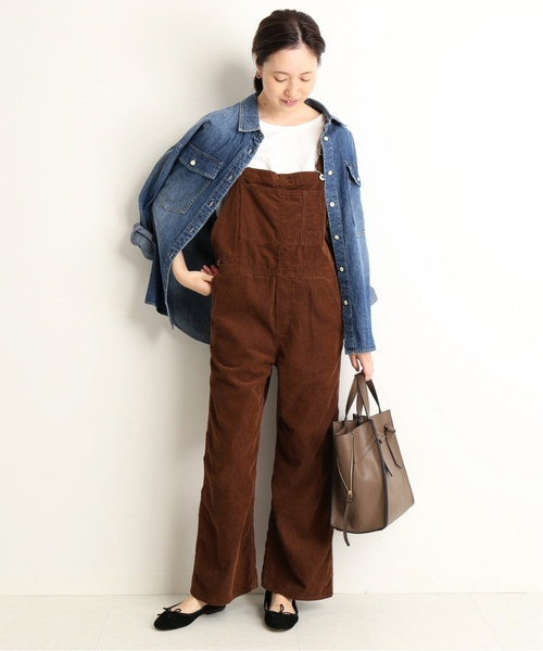 11[IENA] LE DENIM BIGシャツ◆