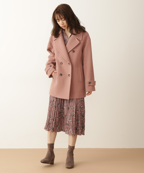 [PROPORTION BODY DRESSING] Wモッサ Pコート