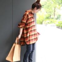 秋らしい『チェック柄』♡トップス×スカート×パンツをCHECK!