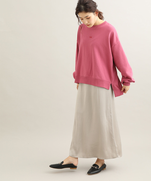 [ViS] サテンマキシナロースカート