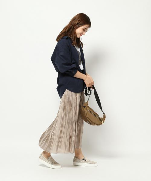 [BARNYARDSTORM] BARNYARDSTORM / リンクルプリーツスカート