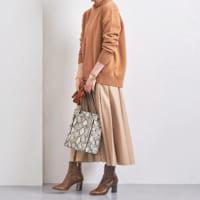 茶色ブーツコーデ特集♪冬トレンドのレディースファッションをご紹介!