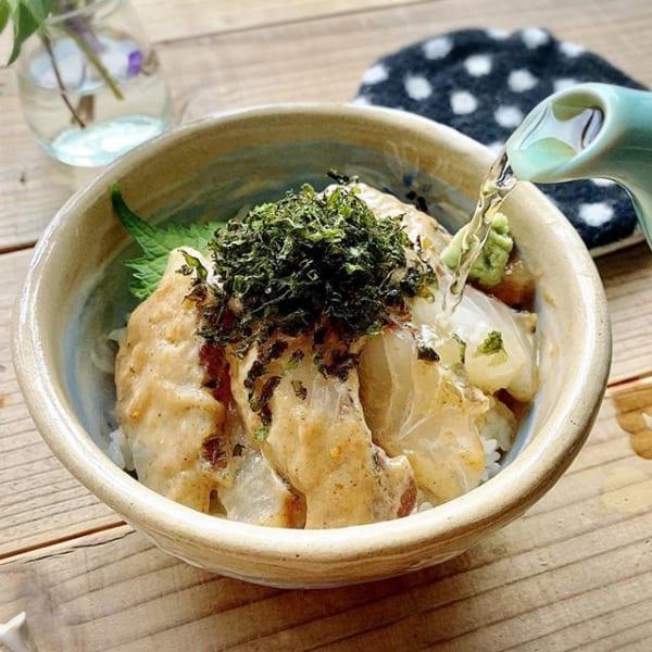 冬魚の新鮮な身を使った食べ方に!鯛茶漬け