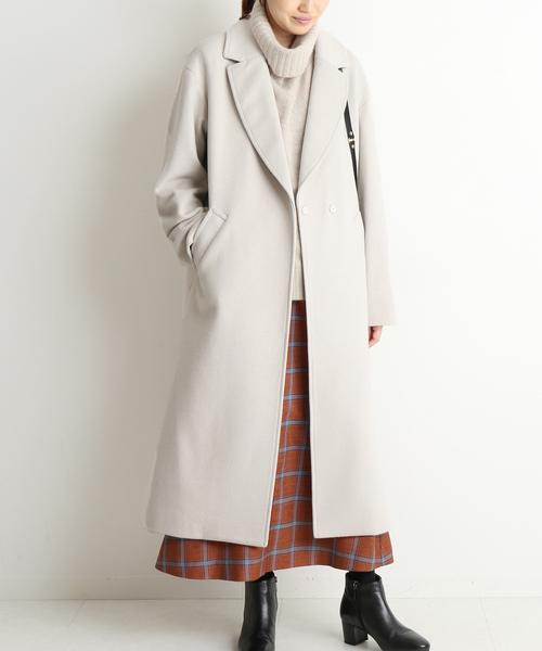 ロングスカート コート2