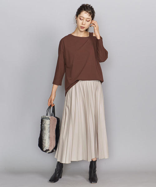 1[BEAUTY&YOUTH UNITED ARROWS] BY サーキュラープリーツスカート