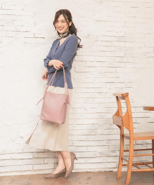 [GLOBAL WORK] 美(うつく)シルエットタイトスカート/841604