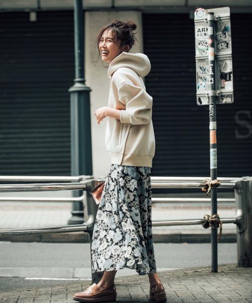 [BARNYARDSTORM] BARNYARDSTORM / フラワーヴィンテージスカート