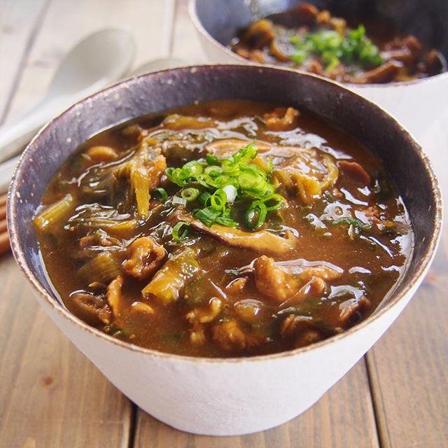 美味しい簡単レシピに!人気の和風カレー蕎麦