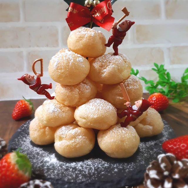 人気クリスマススイーツレシピ!クロカンブッシュ