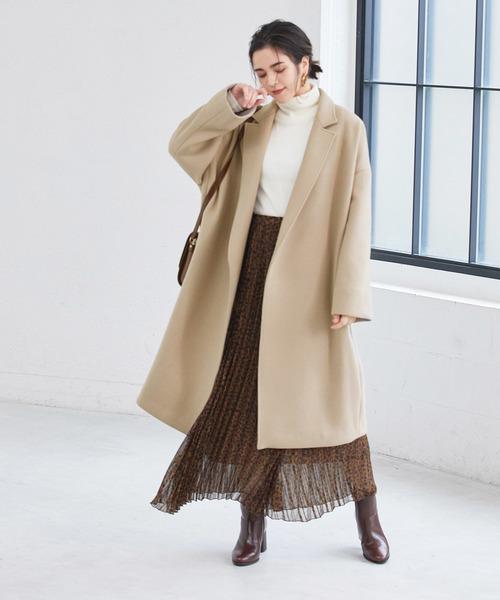ロングスカート コート4