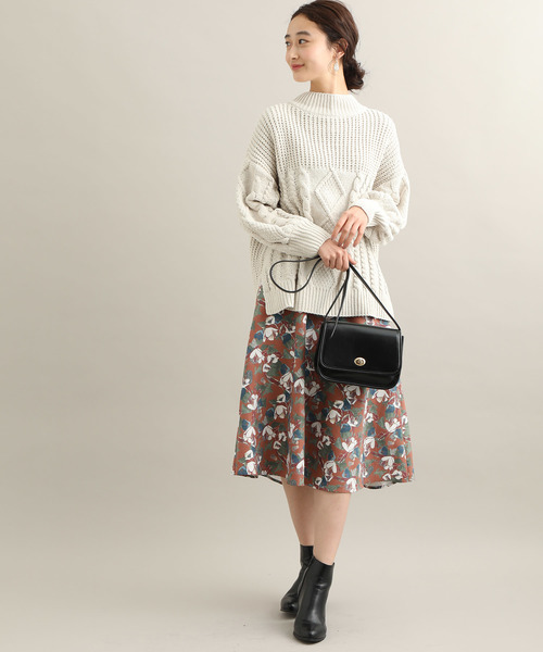 [ViS] ヴィンテージフラワースカート