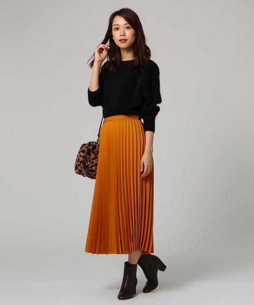 4[UNTITLED] 【洗える】アコーディオンプリーツスカート