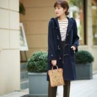 冬の定番「ダッフルコート」のきれいめコーデ集。大人女性らしい着こなし方って?