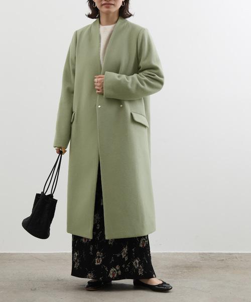ロングスカート コート3