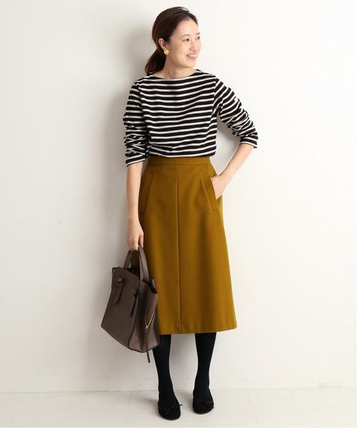 7[IENA] モッサAラインスカート◆