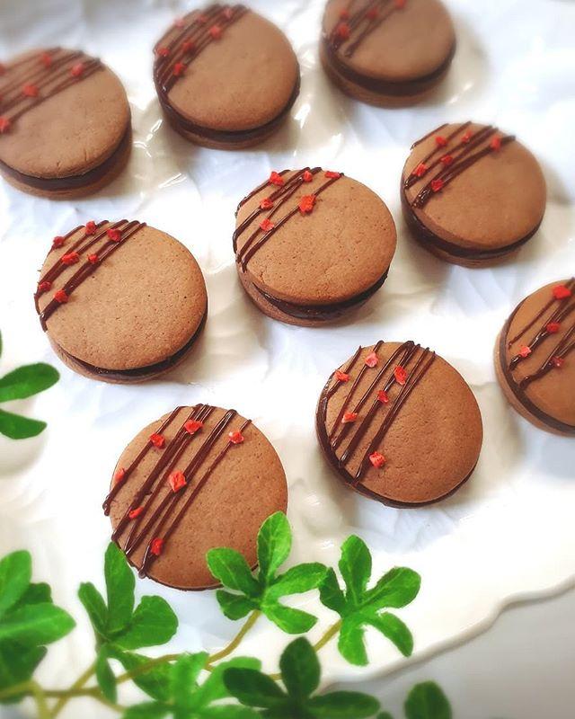 生チョコサンドの焼き菓子クッキー