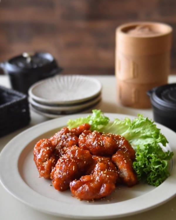 おすすめの韓国料理レシピに!ヤンニョムチキン