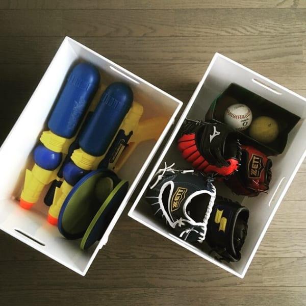 お外用おもちゃを【ボックス・ケース収納】2