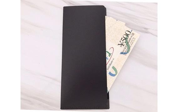 クールなブラックの封筒に入るホルダー