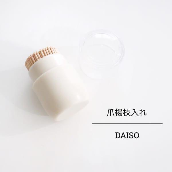 100均ダイソー便利グッズ⑤爪楊枝入れ
