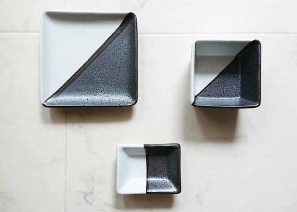 和食器 塗分け皿