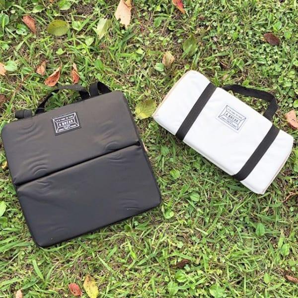 快適なピクニックにおすすめ携帯クッション
