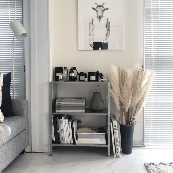IKEA/イケアのシェルフで洋書コーナー作り