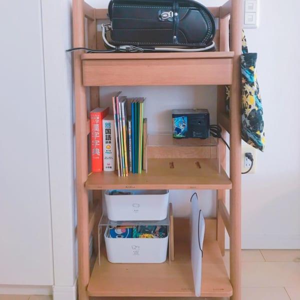 無印良品のアクリル仕切り棚で、収納スペースの有効利用4