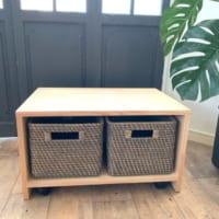 【連載】ニトリのボックスがぴったり♪移動できる便利な収納家具の作り方