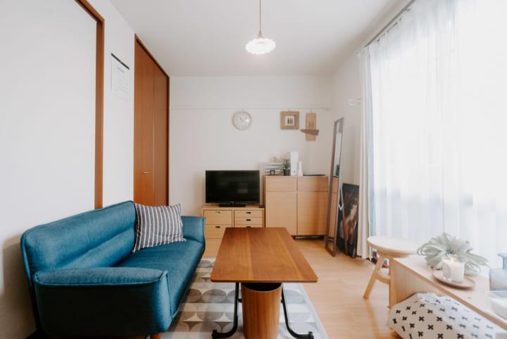 フレキシブルに使える家具で、空間を有効利用4