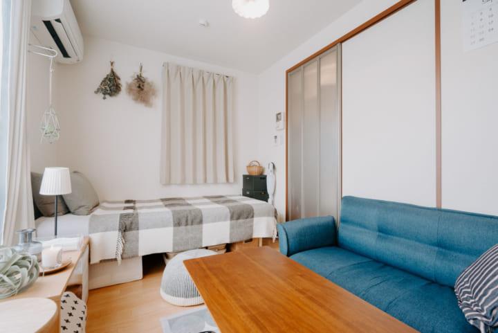 フレキシブルに使える家具で、空間を有効利用2