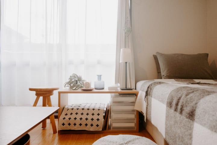 フレキシブルに使える家具で、空間を有効利用6