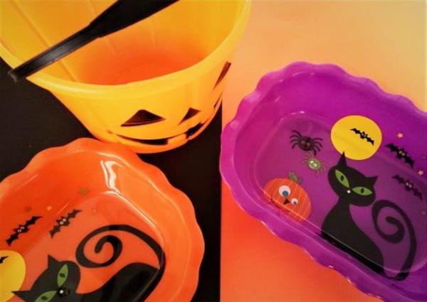 集めたお菓子はもちろん、いろいろ使える♡ハロウィンな入れ物たち2