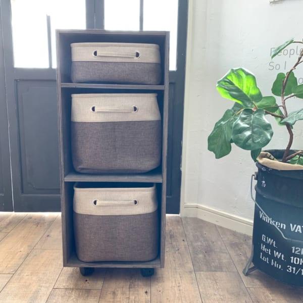 収納家具をDIY11