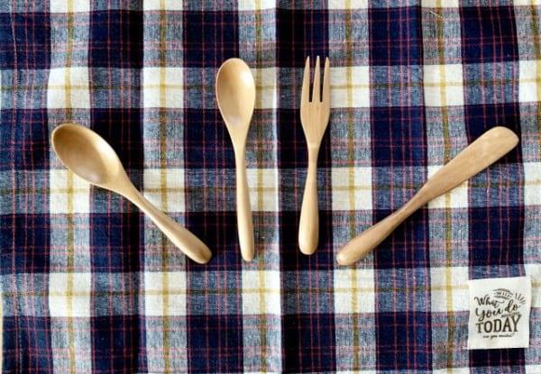 食卓もウッディーで優しい雰囲気に4