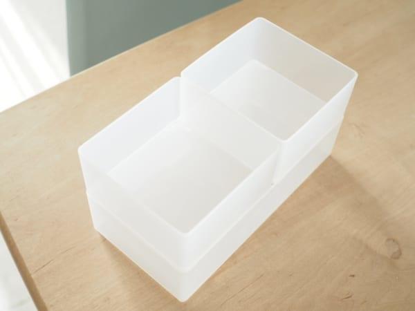 1.キッチン小物の収納に便利!「引き出し整理ボックス」シリーズ2