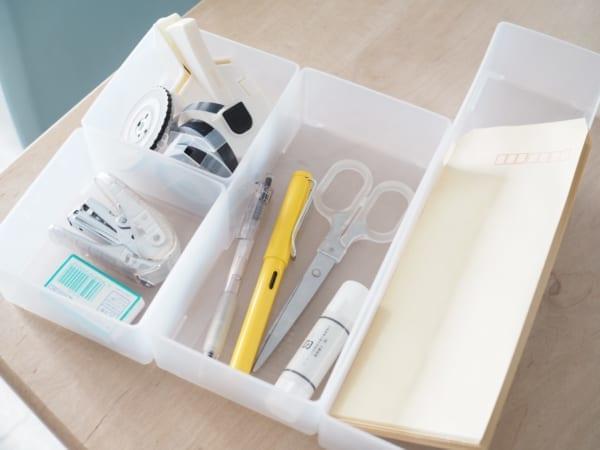 1.キッチン小物の収納に便利!「引き出し整理ボックス」シリーズ4