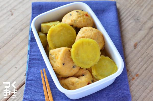 根菜 さつまいも 煮物 レシピ5