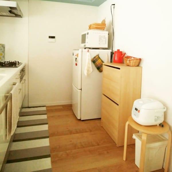 家具も家電も最小限のミニマルレイアウト