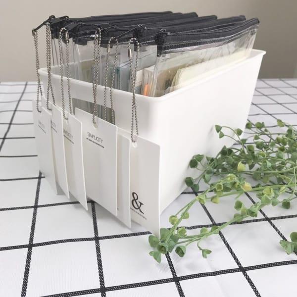 手帳の保管や食品の保存まで幅広く活躍