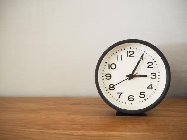 【無印良品】見やすいシンプル時計