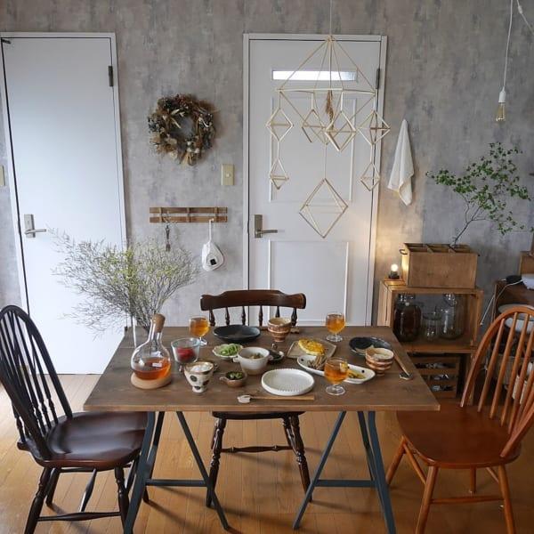 ボタニカルでエレガントな雰囲気が漂うお部屋に5
