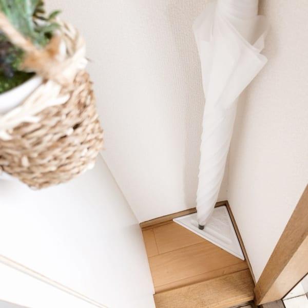 玄関がすっきり珪藻土傘立て