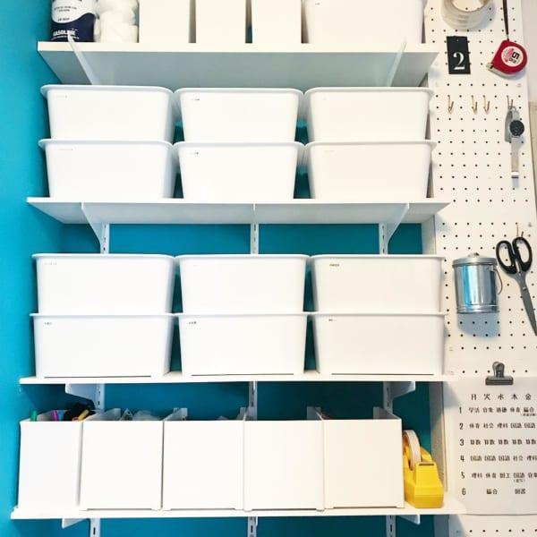 文房具や小物もスキット収納