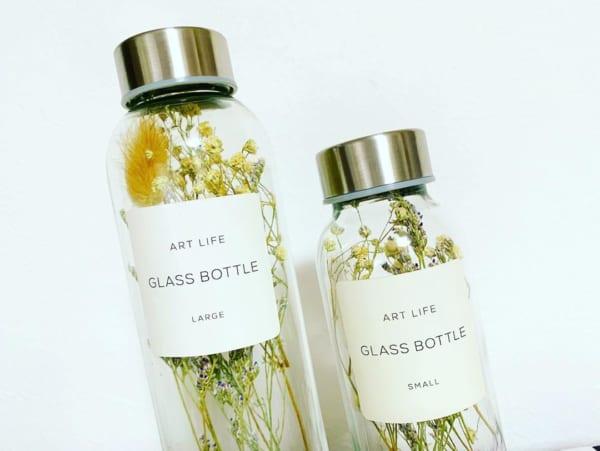 インテリアガラスボトル2